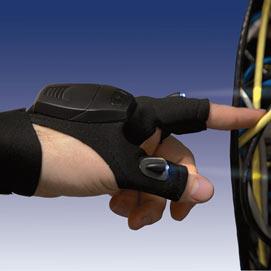 LED Hands Free Glove Light Gadget