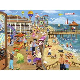 Ice Cream on the Boardwalk 500 Piece Jigsaw Puzzle