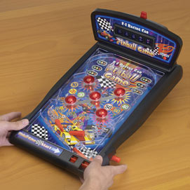 Pinball Game Action Toy