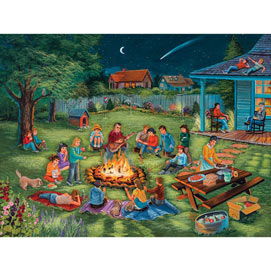 Summertime Memories 300 Large Piece Jigsaw Puzzle