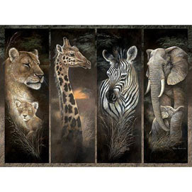 Pride of Africa 3000 Piece Giant Jigsaw Puzzle
