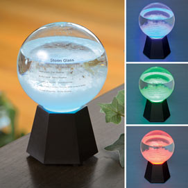 LED Color Changing Admiral Fitzroy Storm Globe