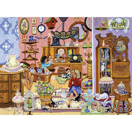 The Antique Shop 1000 Piece Jigsaw Puzzle
