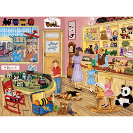 Tim's Toy Store 500 Piece Jigsaw Puzzle