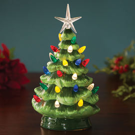 Ceramic LED Lighted Christmas Tree