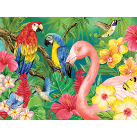 Tropical Birds 1000 Jigsaw Puzzle
