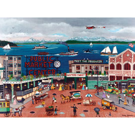 Pike Place Market 300 Large Piece Jigsaw Puzzle