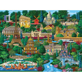 Paris 300 Large Piece Jigsaw Puzzle