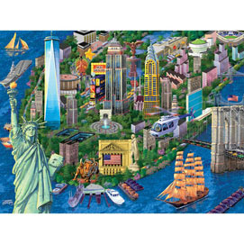 New York City 1000 Piece Jigsaw Puzzle