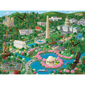 Washington D. C. 1000 Piece Jigsaw Puzzle