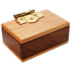 Mini Secret Puzzle Box Brainteaser