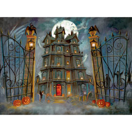 The Haunted House 1000 Piece Jigsaw Puzzle