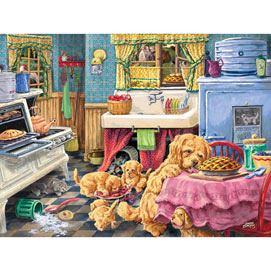 Dog Gone Good Pies 300 Large Piece Jigsaw Puzzle
