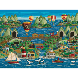 Tales of Whales 500 Piece Jigsaw Puzzle