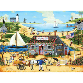 Dizzy Lizzy's Antiques 300 Large Piece Jigsaw Puzzle