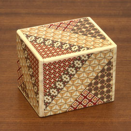 Mosaic Secret Wooden Puzzle Box- Large