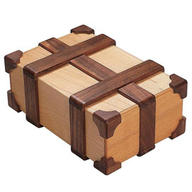 Kamei Treasure Chest Puzzle Box