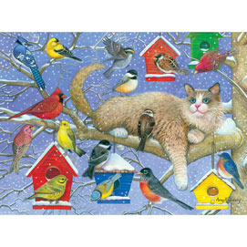 The Party Crasher 300 Large Piece Jigsaw Puzzle