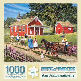 Back To School 1000 Piece Jigsaw Puzzle