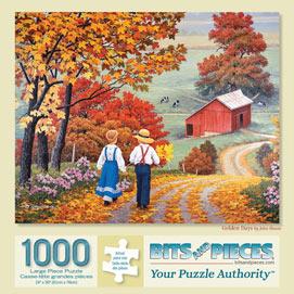Golden Days 1000 Piece Jigsaw Puzzle