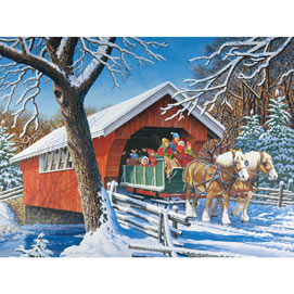 Sleigh Ride 1000 Piece Jigsaw Puzzle