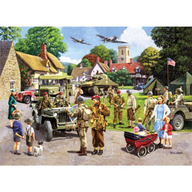 D Day Preparations 500 Piece Jigsaw Puzzle
