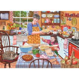 Grandma's Kitchen Apple Crumble 300 Large Piece Jigsaw Puzzle