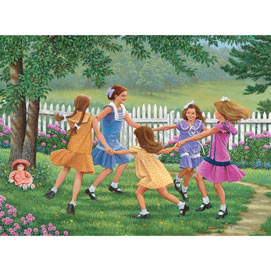 Ring Around the Rosie 500 Piece Jigsaw Puzzle
