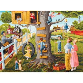 Tree House 500 Piece Jigsaw Puzzle