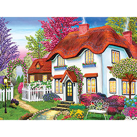 Kodak Cozy Cottage 1000 Piece Jigsaw Puzzle