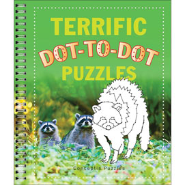 Terrific Dot-to-Dot Puzzles Book