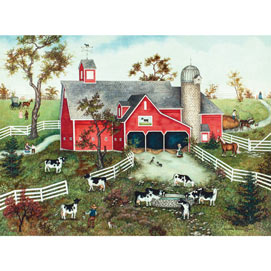 Cows, Cows, Cows 1000 Piece Jigsaw Puzzle