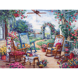 Tea Party 300 Large Piece Jigsaw Puzzle