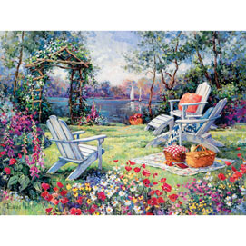 Adirondack Summer 300 Large Piece Jigsaw Puzzle