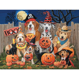 Halloween Tricksters 300 Large Piece Jigsaw Puzzle