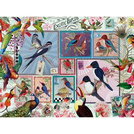 Grand Exotic Birds 500 Piece Jigsaw Puzzle