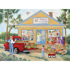Henry's Old Time Store 300 Large Piece Jigsaw Puzzle