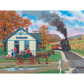 Whistle Stop 500 Piece Jigsaw Puzzle