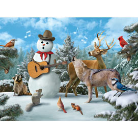 Snowman Sing Along 300 Large Piece Jigsaw Puzzle