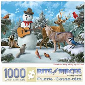 Snowman Sing Along 1000 Piece Jigsaw Puzzle