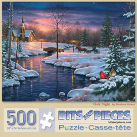 Holy Night 500 Piece Jigsaw Puzzle