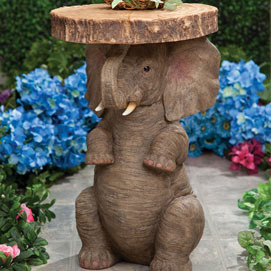 Lucky Elephant Side Table