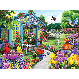 Path To The Greenhouse 500 Piece Jigsaw Puzzle