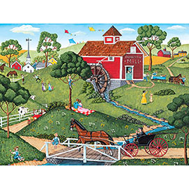 Grand View Mill 500 Piece Jigsaw Puzzle