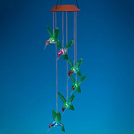 Color Changing Hummingbird Mobile