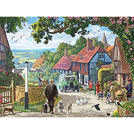 The Country Bus 500 Piece Jigsaw Puzzle