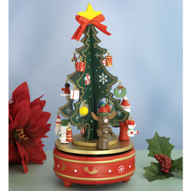 Christmas Tree Music Carousel