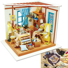 Lisa's Tailor Shop Model Kit