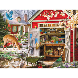 Opening Day 300 Large Piece Jigsaw Puzzle