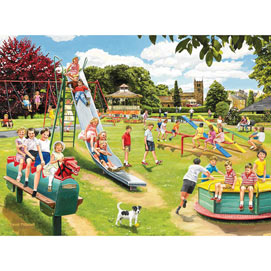 The Park Playground 1000 Piece Jigsaw Puzzle